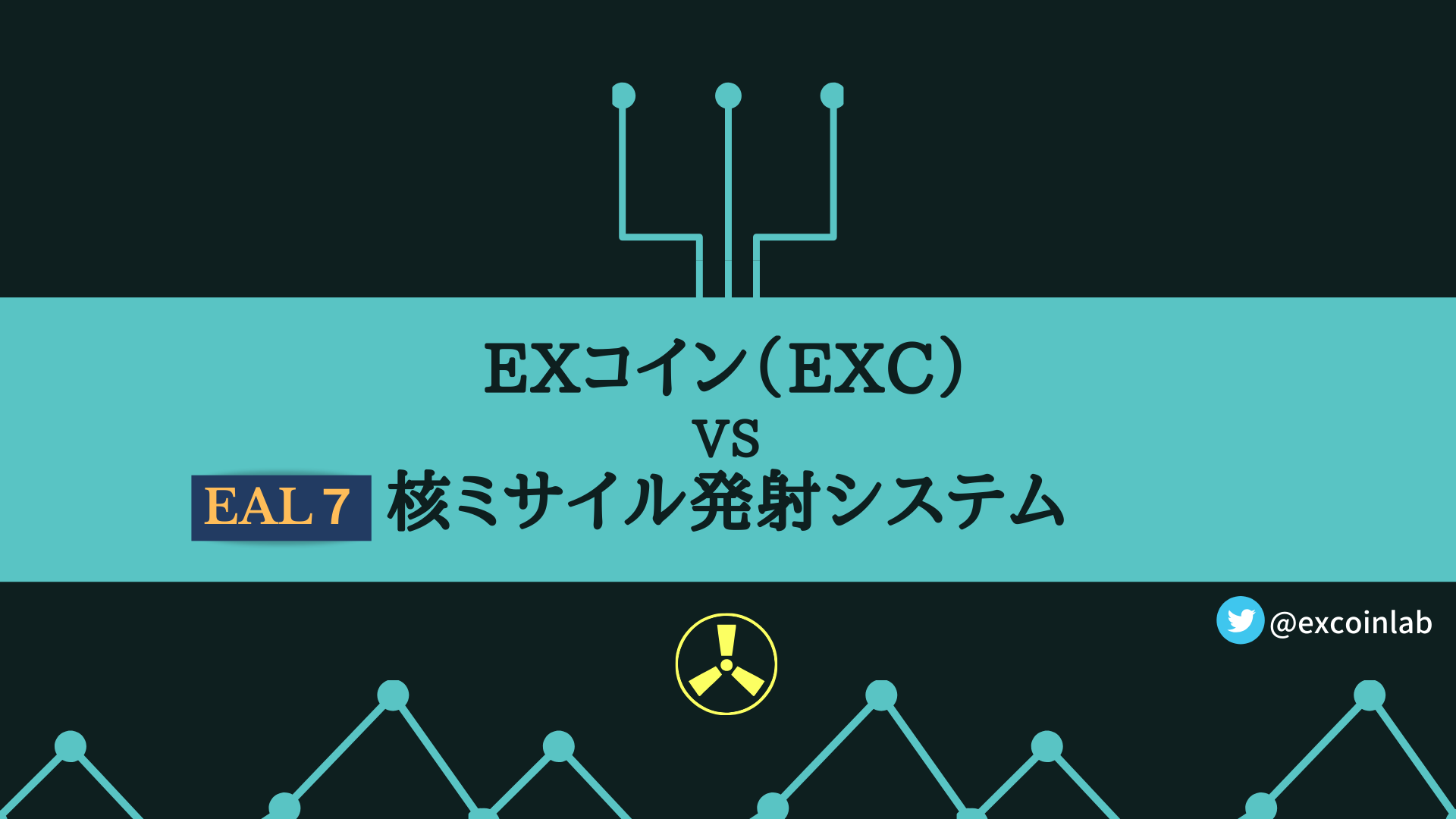 EXコイン(EXC) vs 核ミサイル発射システム